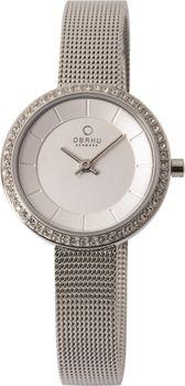Obaku Ladies Watch in Silver