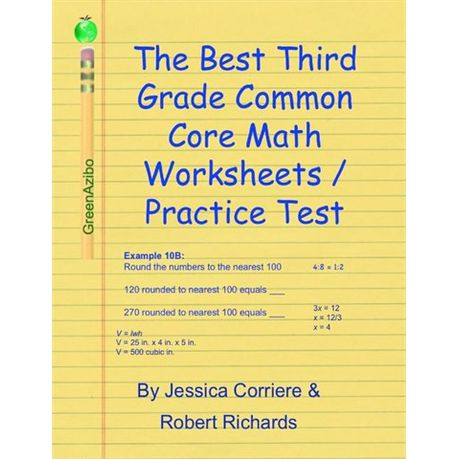 The Best Third Grade Common Core Math Worksheets Practice Tests