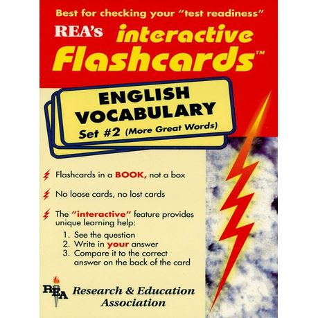 English Vocabulary - Set #2 Interactive Flashcards Book (eBook)