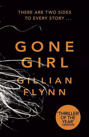 the book cover for gone girl by gillian flynn