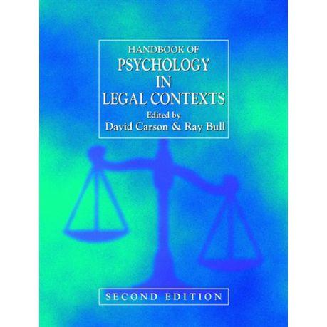 Handbook of Psychology in Legal Contexts (eBook)