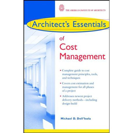 Architect's Essentials of Cost Management (eBook)