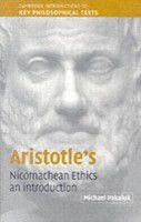 an analysis of aristotles nicomachean ethics Ethics is the moral dilemma that many humans deal with, wither their action will be ethical for not only their life but those they are associated with can a vicious character be changed according to aristotle he believed that through a series of good choices could not change vicious character.