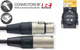 Stagg NMC6R 6M N-Series XLR Microphone Cable with Rean Connectors