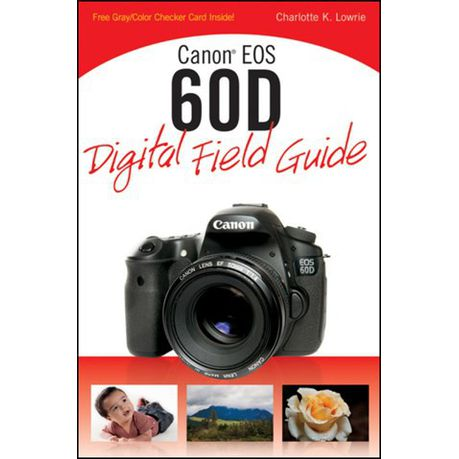 Canon eos 60d digital field guide (ebook) | buy online in south.