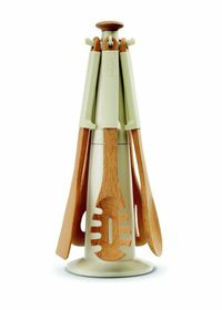 Joseph Joseph - Elevate Wood Carousel Utensil Set - Putty