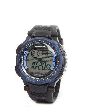 Bad Boy Digital Watch in Black & Blue