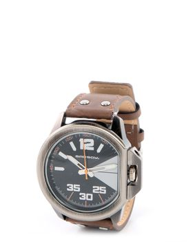 Bad Boy Blade Analogue Watch in Brown
