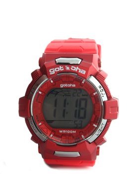 Gotcha Men's Digital Watch in Red
