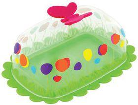 Pylones - Green Butterfly Butter Dish
