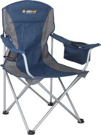 OZtrail - Padded Cooler Armchair - Blue
