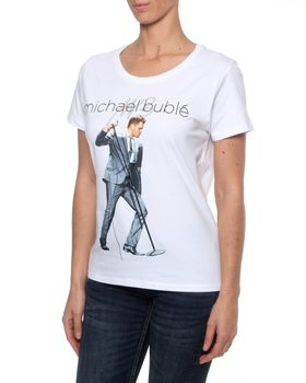 Big Concerts Michael Buble Tour Tee - White