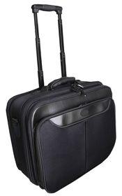 Marco Trolley Laptop Bag - Black