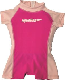 Aqualine - Girls Float Suit Pink - (Size: 5-6 years)