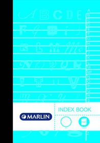 Marlin 192 Page A5 Manuscript Index Book (5 Pack)
