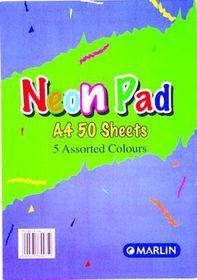 Marlin A4 Neon Pad 50 Sheets