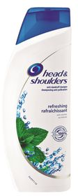 Head And Shoulders Shampoo Menthol - 600ml