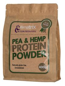 Lifematrix Pea and Hemp Protein Powder - 400g