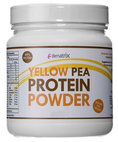 Lifematrix Yellow Pea Protein Powder - 400g