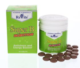 Revite Super B Injection Tablets - 30's