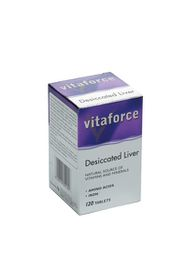 Vitaforce Desiccated Liver Tablets - 120's