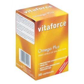 Vitaforce Flaxseed 1000 Capsules - 60's