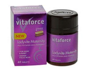 Vitaforce Ladyvite Maternity (2 Phase) Tablets - 60's