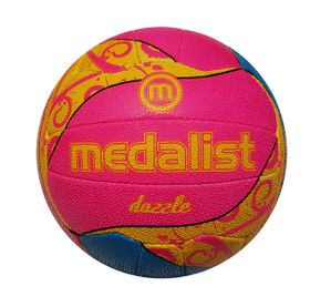 Medalist Dazzle Netball Ball Size 4
