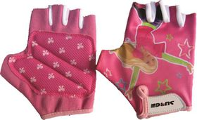 Surge Cycling Gloves Girls Pink 8