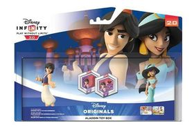 Disney Infinity 2.0 Toy box - (Aladdin + Jasmine + 2 power discs)