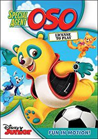 Special Agent Oso:License to Play - (Region 1 Import DVD)