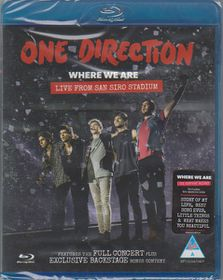 Where We Are:Live from San Siro Stadi - (Region A Import Blu-ray Disc)