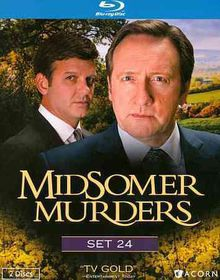 Midsomer Murders Set 24 - (Region A Import Blu-ray Disc)