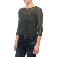 The Earth Collection 3/4 Sleeve In 100%Soft Net - Hush