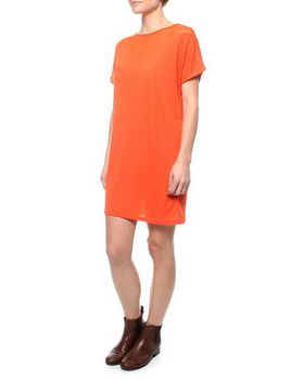 The Earth Collection Dress With Soft Neck Decoration - Chorus