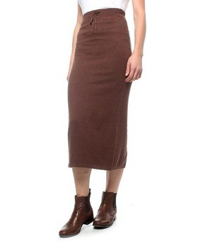 The Earth Collection Long Skirt With Draw String - Vanilla Melange