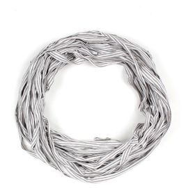The Earth Collection Long Scarf, Neckless - Grey Stripe
