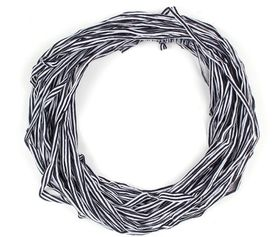 The Earth Collection Long Scarf, Neckless - Sapphire Stripe