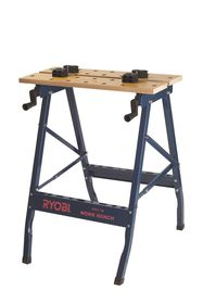 Ryobi - Work Bench With Clamps - Black