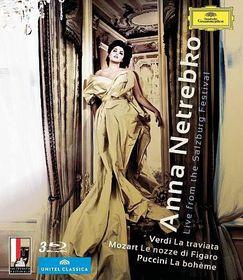 Anna Netrebko:Live from The Salzburg - (Region A Import Blu-ray Disc)