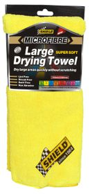 Shield - MicroFibre Supersoft Large Drying Towel Yellow