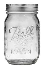 Ball - Regular Mouth 490ml Glass Jar