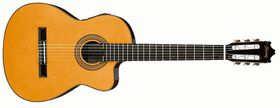 Ibanez GA6CE-AM Classical Series Acoustic Electric Classical Guitar - Amber