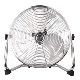 Elektra - 36cm Power Fan - Silver