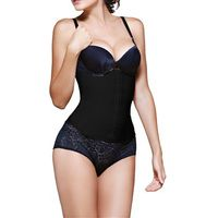 Vedette Shapewear Latex Waist Trainer Valerie 102 in Black