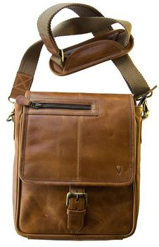 John Buck Men's Bag JB01 - Tan