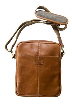 John Buck Men's Bag JB02 - Tan