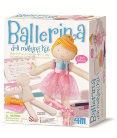4M Doll Making Kit - Ballerina