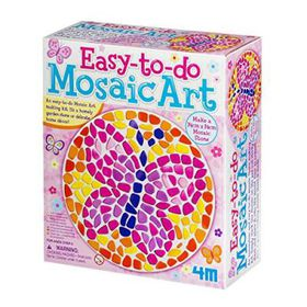 4M Easy To Do Mosaic Art - Butterfly
