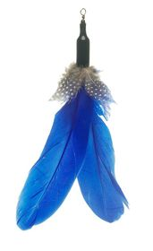 zaKatz - Chicken Refill For zaBird Chicken Feathers - Blue